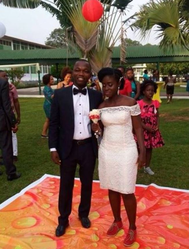 Photos Of the Bride Who Wore Sneakers On Her Wedding Day