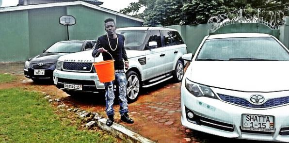 Shatta Wale flaunts his 1Million Dollar MANSION And Fleet Of Cars (Video)
