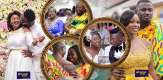 From Mcbrown's, Gifty Anti's,Stonebwoy's to Dumelo's and other 20 Celebrity Weddings In Recent Times