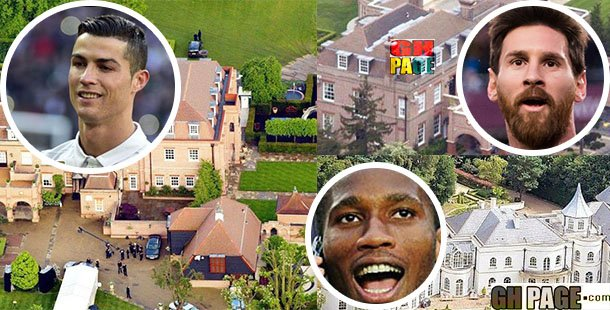 10 Most expensive houses of footballers|Ronaldo and Drogba's house will leave you speechless (Photos)
