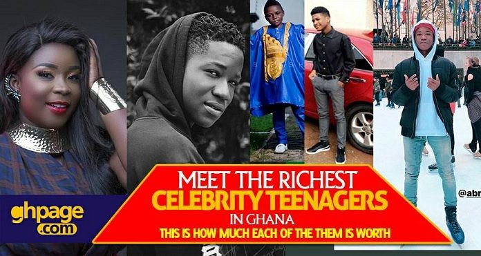 Meet The Richest Celebrity Teenagers In Ghana - This Is How Much Each Of Them Is Worth