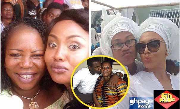 Ghanaian Celebrities In a Swag Photos With Their Mothers