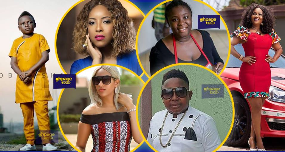 These 20 Ghanaian celebrities' ages will leave you shocked