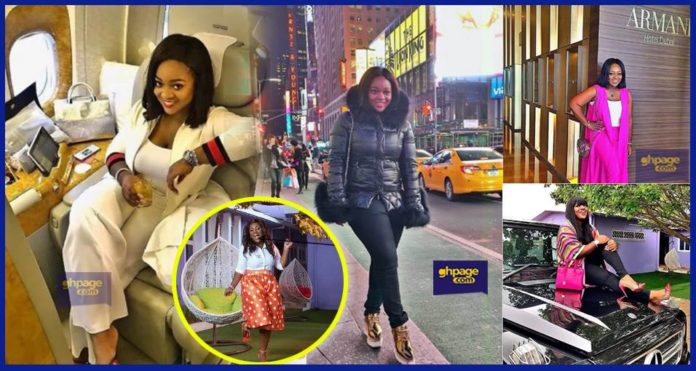 First class travels,cars,houses & fashionable dresses-Check out the lifestyle of Jackie Appiah
