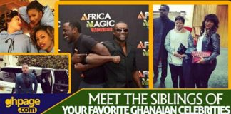 Meet The Siblings Of Your Favorite Ghanaian Celebrities [With All Their Photos]