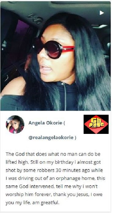 Nollywood Actress Nearly Face Death On Her Birthday