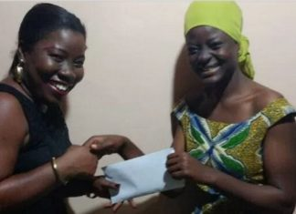 Kumasi-Based Journalist Donates To 'Kayeyei' Teacher Trainee