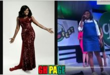 Funke Akindele Is Heavily Pregnant With Her First Child