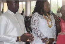 [Photos] Gifty Anti and husband hold outdooring ceremony for 'royal baby'