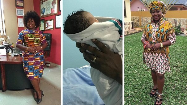 Gifty Anti Gives Birth To A Bouncing Baby Girl- See Photos Of The Cute Girl