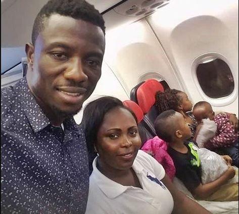 Kwaku Manu Flew Family USA Celebrate Wife Birthday