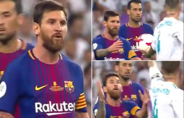 Lionel Messi Said When He shouted Sergio Ramos