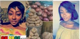Photos: The Interesting Life Story Of This beautiful Young Lady Who Sells Potato Will Motivate You