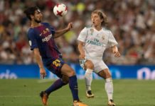 VIDEO Luka Modric Andre Gomes Superb Skill Clasico