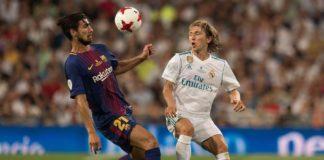 VIDEO Luka Modric Andre Gomes Superb Skill Clasico