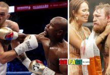 Photos From Mayweather-McGregor fight