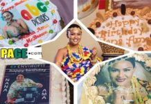 See PHOTOS of the amazing birthday CAKES McBrown received on her birthday-Spectacular