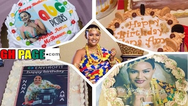 See PHOTOSof the amazing birthday CAKES McBrown received on her birthday-Spectacular