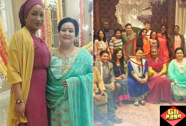 Photos Samira Bawumia Meets stars Of Kumkum Bhagya India