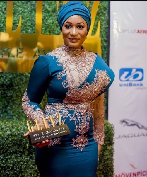 Samira Bawumia Looking Lovely In The Outfit She Wore To The Glitz Style Awards