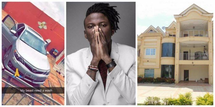 Zylofon Media Gives Stonebwoy A Brand New Car And A Mansion