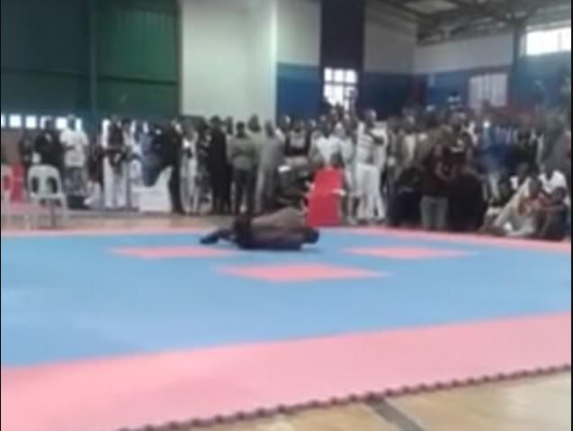 A Giant Bodybuilder Breaks His Neck And Dies