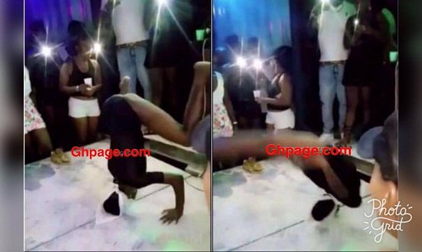 [Watch Video] A Lady Breaks Her Neck Whiles Twerking At The Club