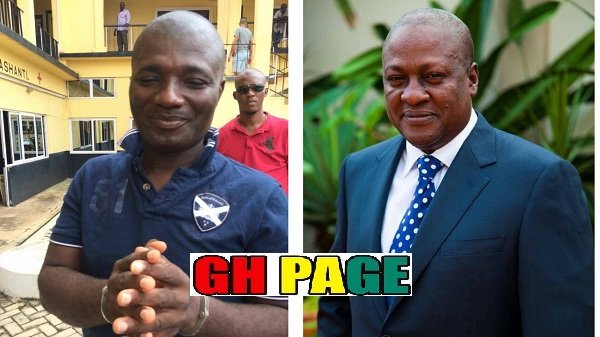 Video : Appiah stadium on phone with Ex president Mahama making some damning revelations after his arrest