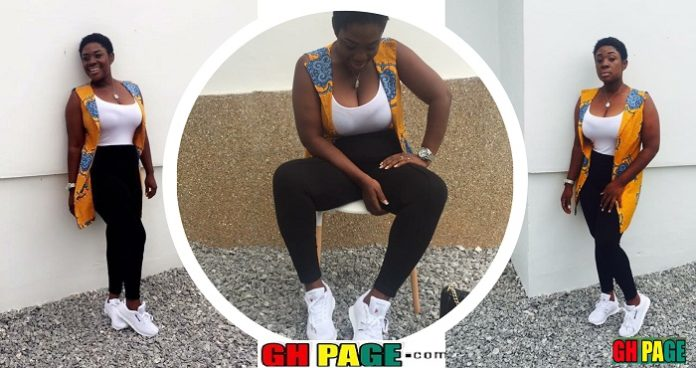 These Amazing Photos of Emelia Brobbey in Sneakers Proves the Kumawood actress is a real bae