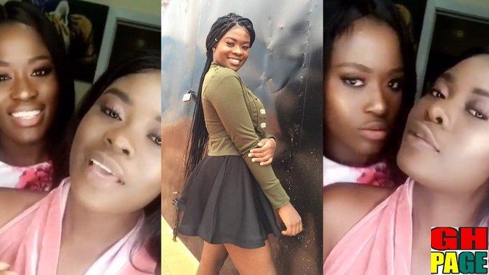 Meet Fella Makafui's beautiful Sister Fendy Fella – She looks like a goddess (Photos+Video)