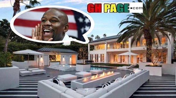 See More Photos From Floyd Mayweather's Newly Bought $26million Mansion in Beverly Hills