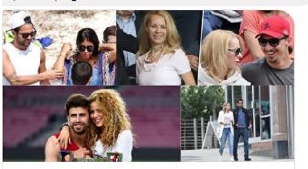 Footballers Who Are In Relationships With Women Far Older Than Them