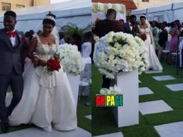 Exclusive Photos and Video from Kwame A Plus and Akosua Vee's White Wedding
