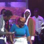 "[PHOTOS] See Photos Of The Lady Who Went ""Topless"" For Kwaw Kese In Ho"