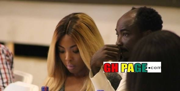 PHOTOS Big Akwes Reveals His Girlfriend To Prove That Indeed Maame Serwaa Is Too Small For Him