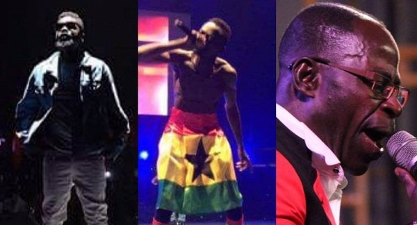 Videos:From Sark,Lilwin to Amakye Dede SEE how Sarkodie repeated history with the Highest Concert