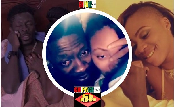 VIDEO: Shatta Wale and His Wife Released Their Own S£x Video On SnapChat