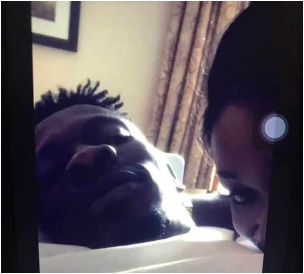 Shatta Wale Seen In Bed With A Ghanaian Actress