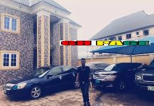 Young Millionaire flaunt his newly built mansion & fleet of cars worth over $2million on social media