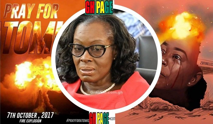 The Attorney General Gloria Akuffo reveals how she narrowly escaped the atomic gas explosion