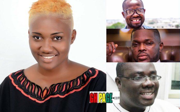 Criss Waddle, Sammy Awuku, KOD, Giovanni & More named by Nana Abena Korkor, as People She Has Slept With