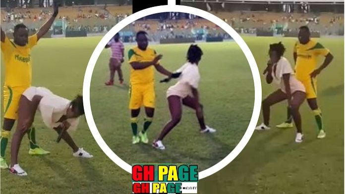 Video: Ebony Reigns almost finished Funny Face in just 'two minutes' at the Park