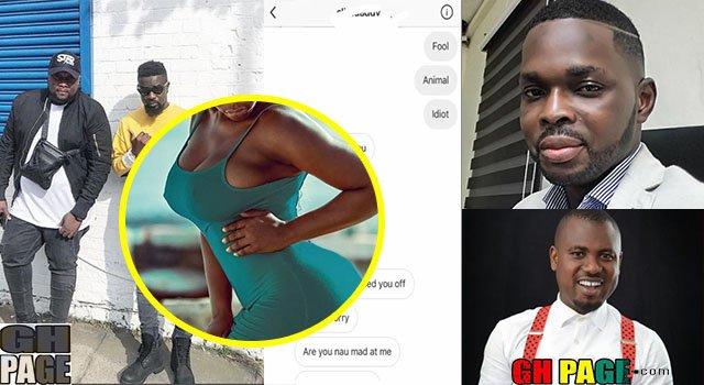 Screenshots: Kojo Yankson, Abeiku Santana, and Other Celebrities Harass Instagram Girl for S*X