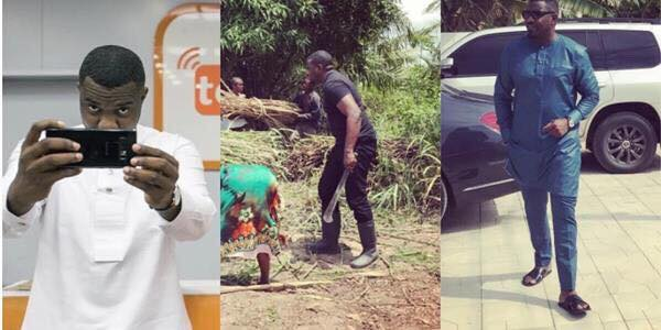 John Dumelo lifestyle - A vibrant agricultural sector can solve Ghana's problem – John Dumelo