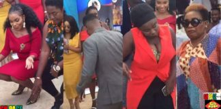 "Video: Maame serwaa, Bill Asamoah, Emelia Brobbey And Others ""Dance"" At The Commissioning Of Xylofon New Office In Kumasi"