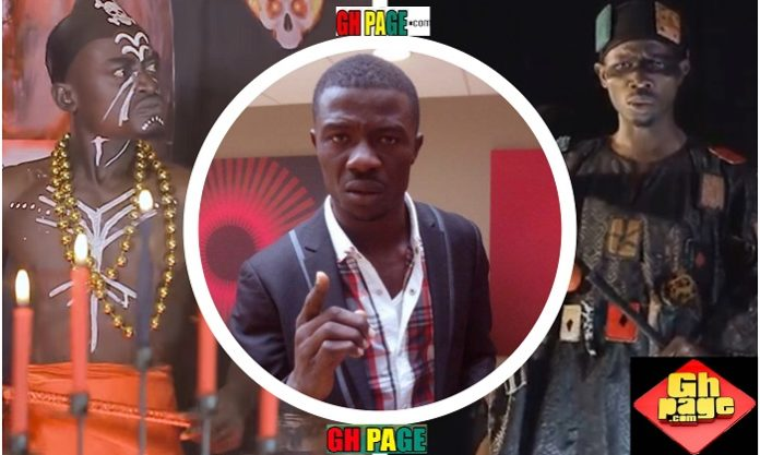 (Video)Kwaku Manu Blasts Lilwin, his Fetish Priest Top Kay and we believe there is Fire on the mountain