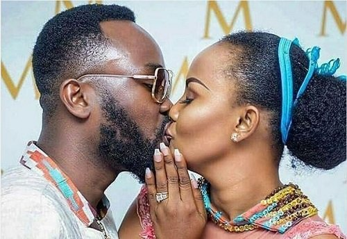 Kissing And Love Photos Of Nana Ama McBrown And Maxwell