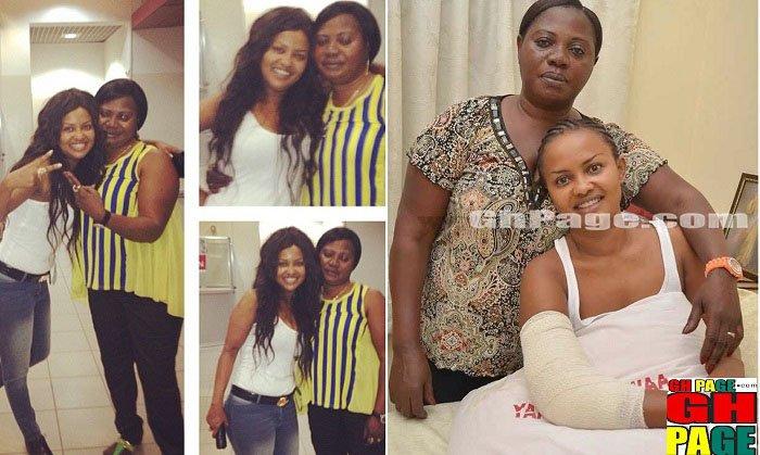 Photos: Meet Cecilia Agyenim Boateng — Nana Ama McBrown's beautiful Biological mother