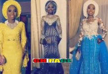 Incredible! Ghanaian bride wore 20 different outfits for her wedding [Photos]