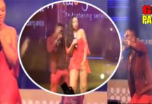 Becca UNVEILED: Shatta Wale takes over Shatta Michy's performance (Video)